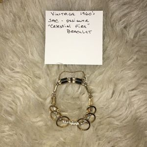 Vintage celestial fire bracelet